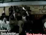 インドの満員電車
