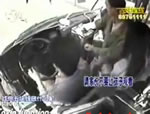 中国 低レベルな車内暴力