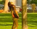 どっきりカメラ 女性の立ちション
