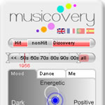 Musicovery  interactive webRadio