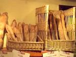 女性に人気(?)のフランスパン