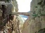恐怖の山道