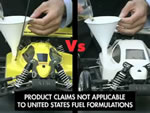 Shellと他のガソリン比べ
