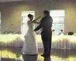 新郎新婦 披露宴でダンス