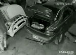 車整備中の事故