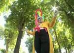 どっきりカメラ アソコから風船