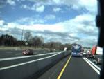 車載カメラに撮られた事故瞬間映像