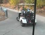 ゴルフカート事故