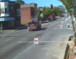 消防車衝突事故
