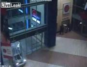 チェコのプラハで大胆な銀行強盗