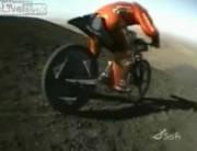 自転車で170で走行中に前輪が外れる!