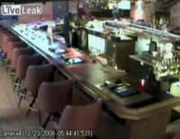 ラスベガスのクラブでの強盗。