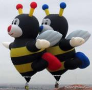 ユニークな気球写真集