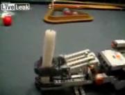 レゴで作ったしごきマシン