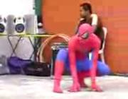 子供のヒーロー スパイダーマン