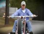 超かっこいいチョッパー バイク