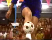 ミャンマーの蹴鞠 Chinlone