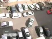 駐車できない女性ドライバー