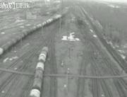 貨物列車衝突