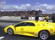 Lamborghini vs Go-Kart