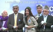 アフガニスタン 平和祝賀行事で飛ばないハト