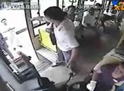 中国 バスジャック映像