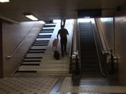 ストックホルム ピアノの階段