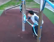 ジャンプ失敗映像集