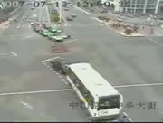 中国 交差点事故映像集