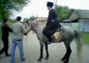 乗馬アクシデント