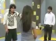パキスタン TV番組で男にキレる女