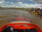ジェットボート事故映像