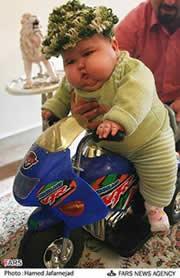 生後7ヶ月 20キロの赤ちゃん