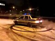 ロシアのパトカー
