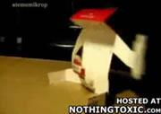 タバコの箱でXXX