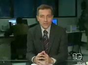 ニュース番組のハプニング