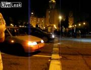公道でドラッグレース事故