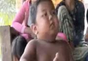2歳の男の子が1日40本喫煙