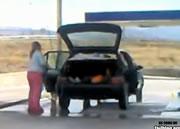 洗車 車内まで・・・。