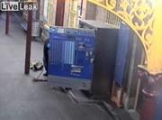 チケット販売機強盗逮捕