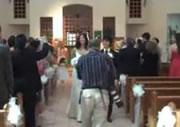 結婚式 カメラマン、撮影に転ける