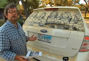 The Dirty Car Artist