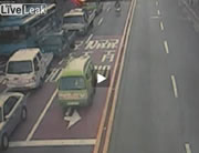 韓国 路線バス爆発