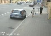 交差点事故 間一髪で助かった女性