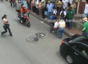 自転車レース事故