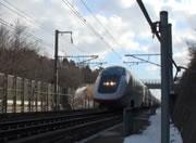 大迫力の東北新幹線