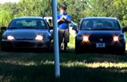 Two Car Nut Shot
