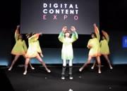 美少女ロボ「HRP-4C 未夢」が踊り、歌う デジタルコンテンツEXPO2010より