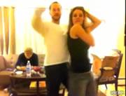 男女ペアでダンス ハプニング
