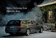merry Christmas from Mercedes-Benz